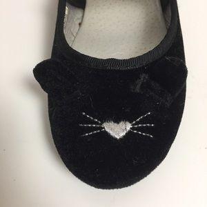 OshKosh Velvet Kitty Cat Shoes